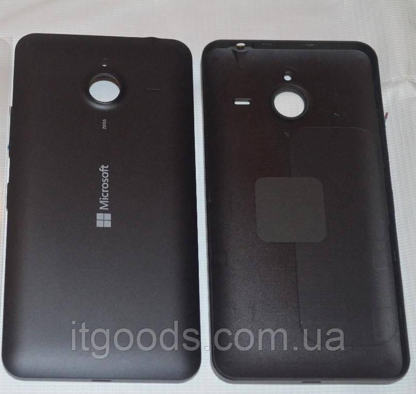 Задняя черная крышка для Microsoft Lumia 640 XL