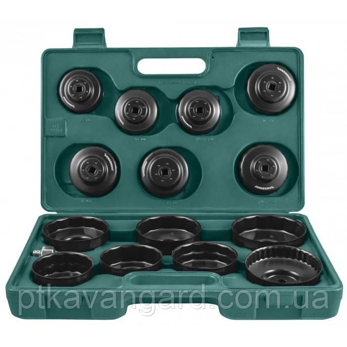 Комплект чашек для съема масленных фильтров 65-100 мм, 14 пр. Jonnesway AI050004