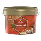 Термостойкий лак для бани Eskaro Saunalakk Эскаро Сауналак  2,4л