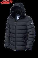 """Куртка мужская зимняя, с мутоновым воротником, Braggart """"Dress Code"""" графитовая, в ассортименте"""