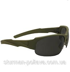 Окуляри тактичні Swiss Eye Armored олива