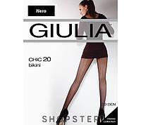 "Колготки ""Giulia Chic 20 bikini"" черный, 2 (S)"