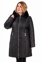 Зимняя куртка-пальто женская удлиненная в 3х цветах 01.187