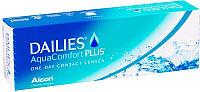 Контактные линзы Focus Dailies Aqua Comfort Plus, (однодневные), 30шт, Alcon