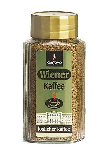 Кава розчинна GiaComo Wiener Kaffee 200 g.