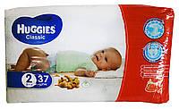Подгузники Huggies Classic 2 (3-6 кг) - 37 шт.