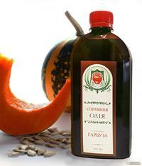 Тыквенное масло-натуральное,первый холодный отжим (500мл,Справжни Оліі, Украина)