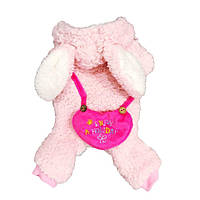 Комбинезон для собаки Зайка-Розовый, фото 1
