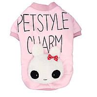 Кофточка для собаки  Petstyle-Розовый-L