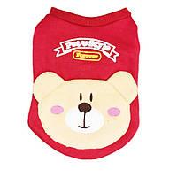 Кофточка для собаки Мишка-Красный, фото 1