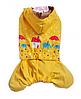 Дождевик для собаки-Желтый-XS