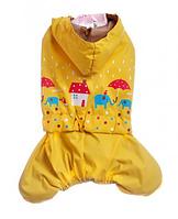 Дождевик для собаки-Желтый-XS, фото 1