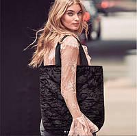 Вельветовая стильная сумка Victoria's secret, оригинал из США