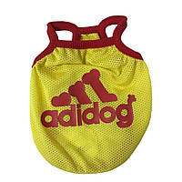 Футболка для собаки-Желтый-M