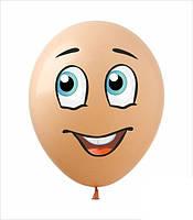 Наклейка лицо для фигур из воздушных  шаров