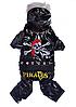 Комбинезон для собаки Пират-Черный