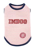 Майка для собаки Im Dog-Розовый-M, фото 1