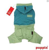 Костюм для собаки с капюшоном-Зеленый-L