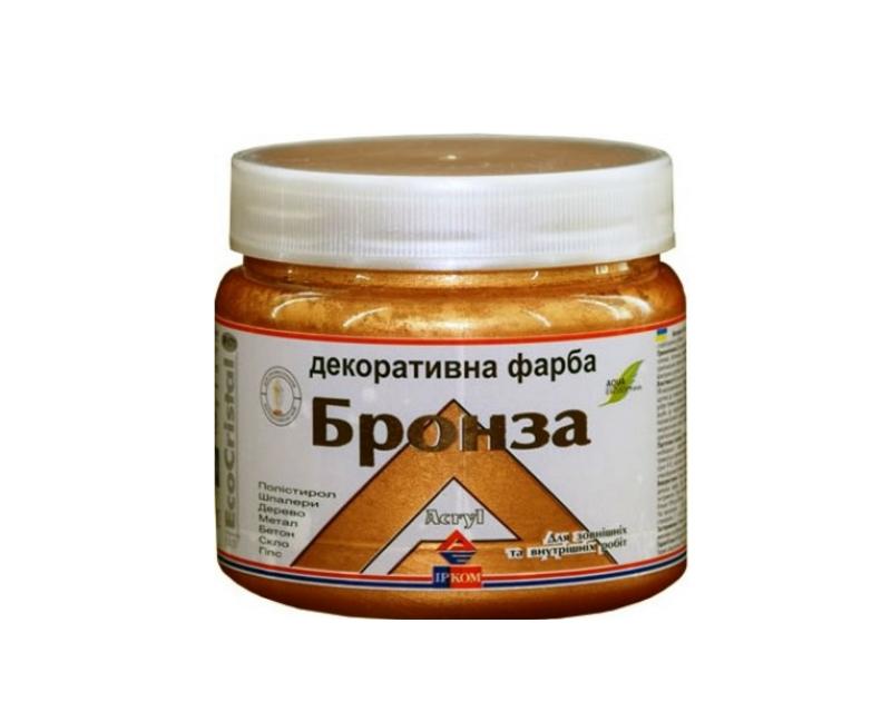 """Фарба """"металік"""" ІРКОМ БРОНЗА IP-171 0,4 л"""