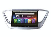 Штатная магнитола для Hyundai Accent, Solaris 2017+ Incar AHR 2469 Android 4.4.