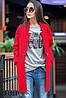Женское осеннее пальто с застежкой в виде ремешка, фото 5