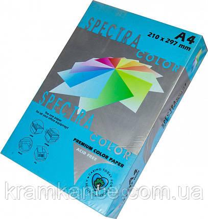 Бумага А4 80г/м2 цветная Spectra Color, Turquoise 220, фото 2