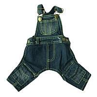 Джинсовые штаны для собаки -Синий, фото 1