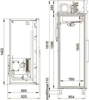Холодильник фармацевтический Polair ШХФ-1,4, фото 2