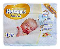 Подгузники Huggies Elite Soft Newborn 1 (2-5 кг) - 27 шт.