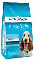 Корм для молодых собак и щенков Arden Grange Puppy Junior