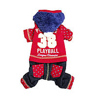 Костюм для собаки PlayBall-Красный, фото 1