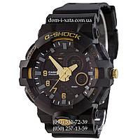 Электронные часы G-Shock Casio GWL-50 Black-Gold, спортивные часы Джи Шок черный-золото