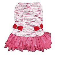 Платье для собаки Бантики-Красный, фото 1