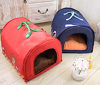Домик для собаки-Красный-L