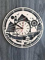 Концептуальные часы на стену «В открытом море»