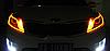 45 см гибкие дневные ходовые огни ЖЕЛТЫЕ (ДХО, ДРЛ, DRL). Цена за ПАРУ, фото 3