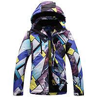 Горнолыжная мужская куртка ветрозащитная
