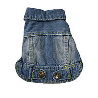 Джинсовый пиджак для собак-Голубой, фото 1