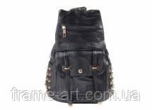 Рюкзак женский, черный 8-3768