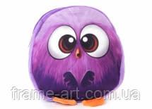 """Сумка детская """"Angry birds"""", фиолетовая 9-10376-3"""