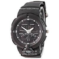 Электронные часы Casio G-Shock GA-500 All Black, спортивные часы Джи Шок черный