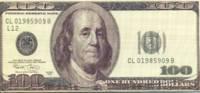 Сувенирные купюры 100 долларов