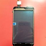 Сенсорный экран для LG P715 Optimus L7 II черный, фото 2