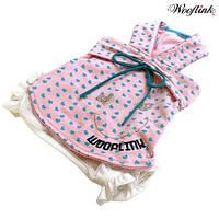 Летний костюм для собак -Розовый-#1(XS)