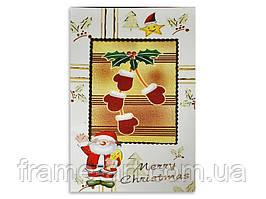 Листівка з конвертом новорічна (180438,190260)