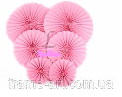 Гармошка для декору 20см рожевий 5-24155-9