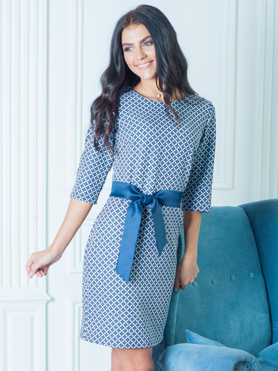 Великолепное платье с узором 46,48