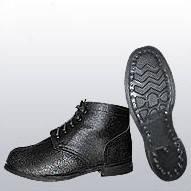 Ботинки утепленные комбинированные с мягким кантом