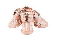 Кроссовки для собак-Розовый-№M(3)