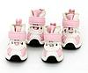 Кроссовки для собак-Розовый-№8